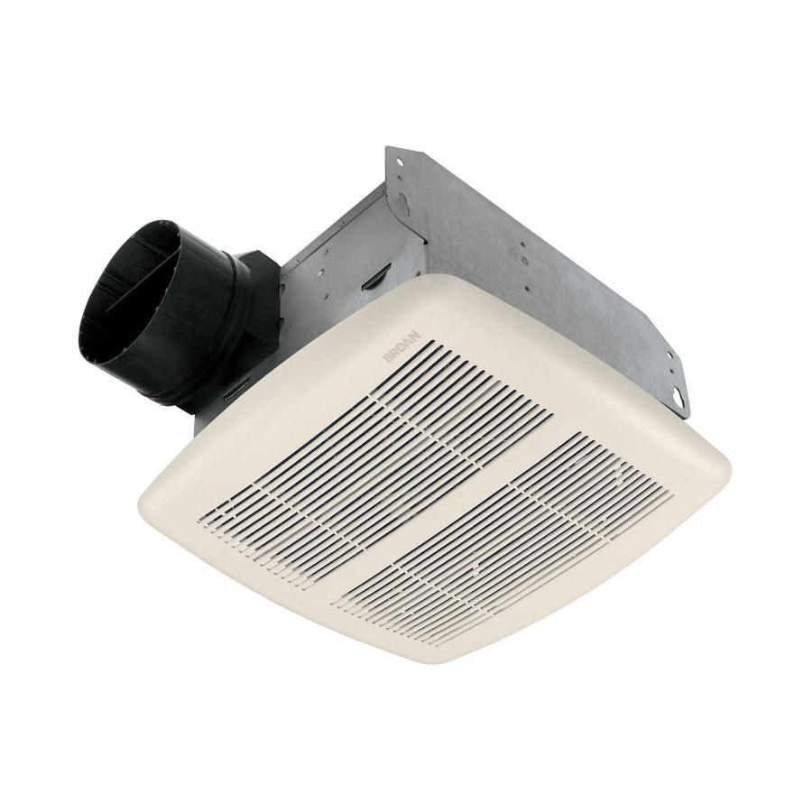 Broan 2 Sones 80 Cfm Polymeric White Bathroom Fan ENERGY STAR