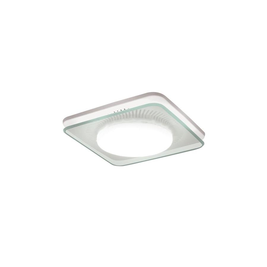 Broan 0.7 Sones 110-CFM White Bathroom Fan GU24 with Light ENERGY STAR