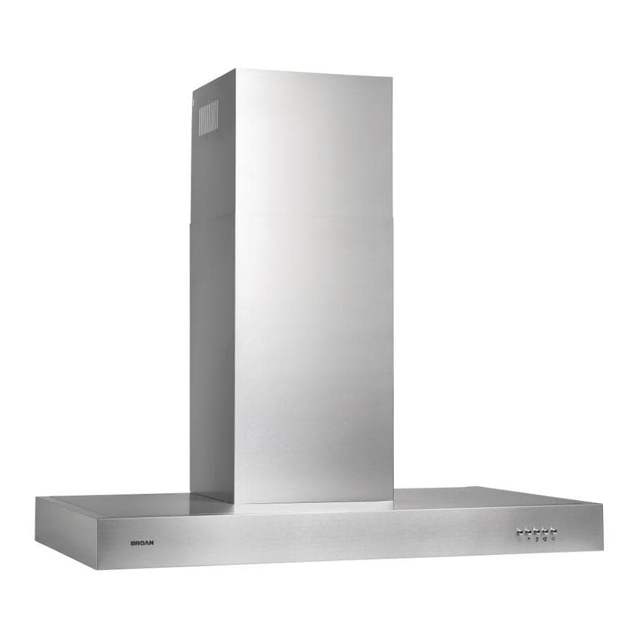 Broan Convertible Wall-Mounted Range Hood (Stainless Steel) (Common: 30-in; Actual: 30-in)
