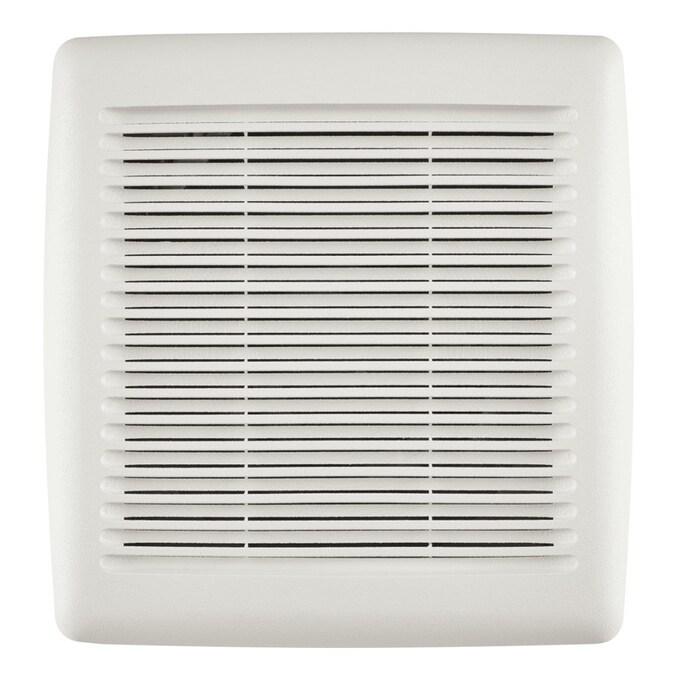 Broan InVent Series 2-Sone 80-CFM White Bathroom Fan in ...