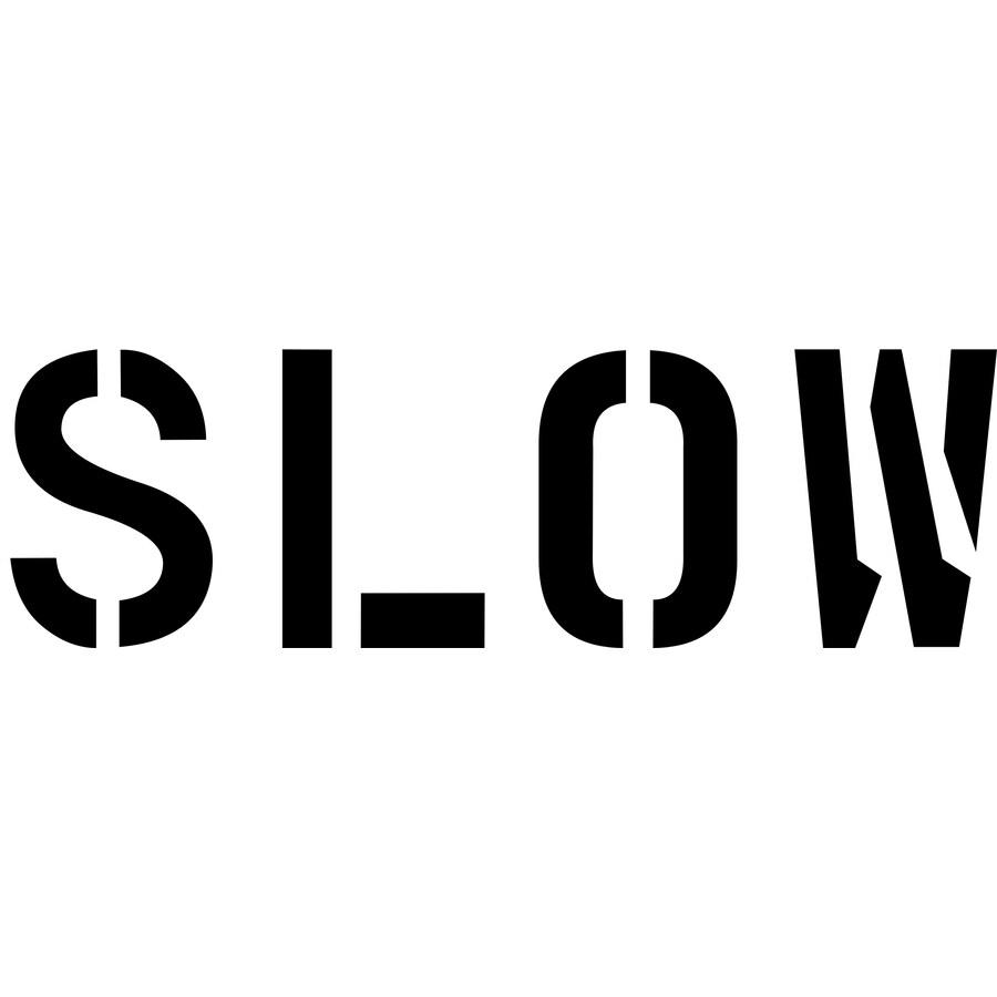 "Stencil Ease 18"" Slow Sign Stencil"