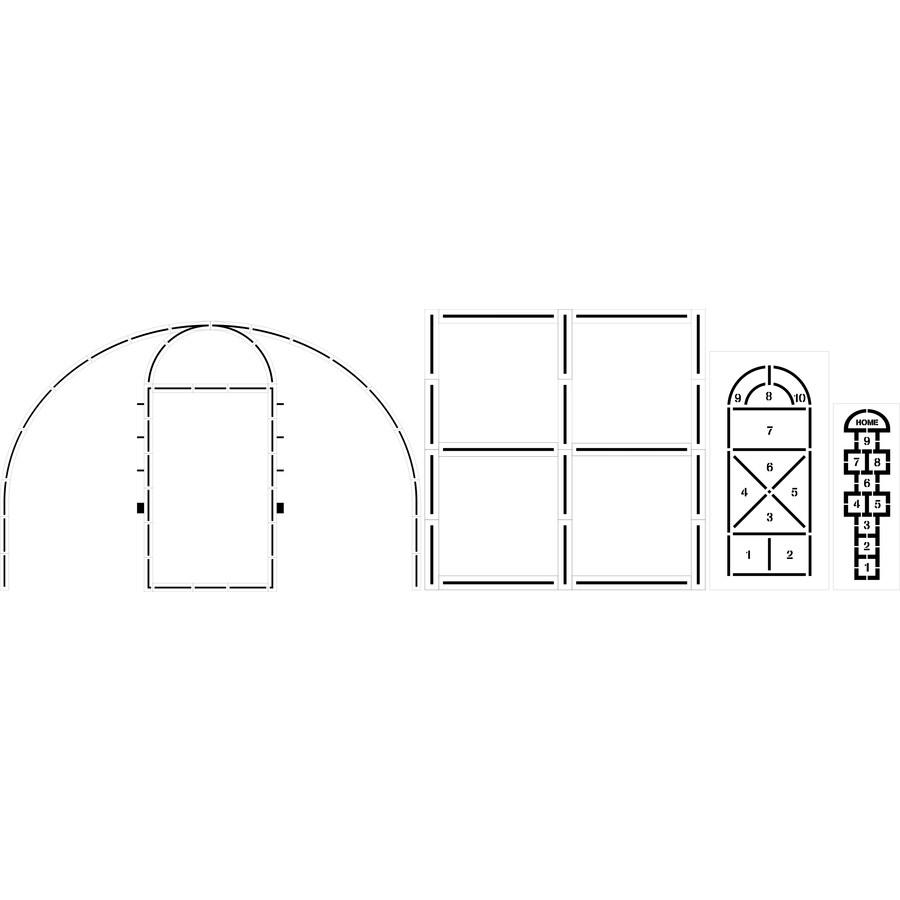 Stencil Ease Playground Stencil Kit