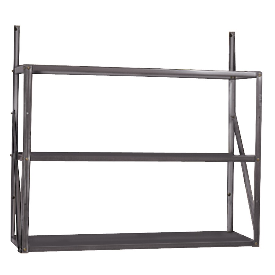 Arrow Gray Galvanized Steel Storage Shed Shelf