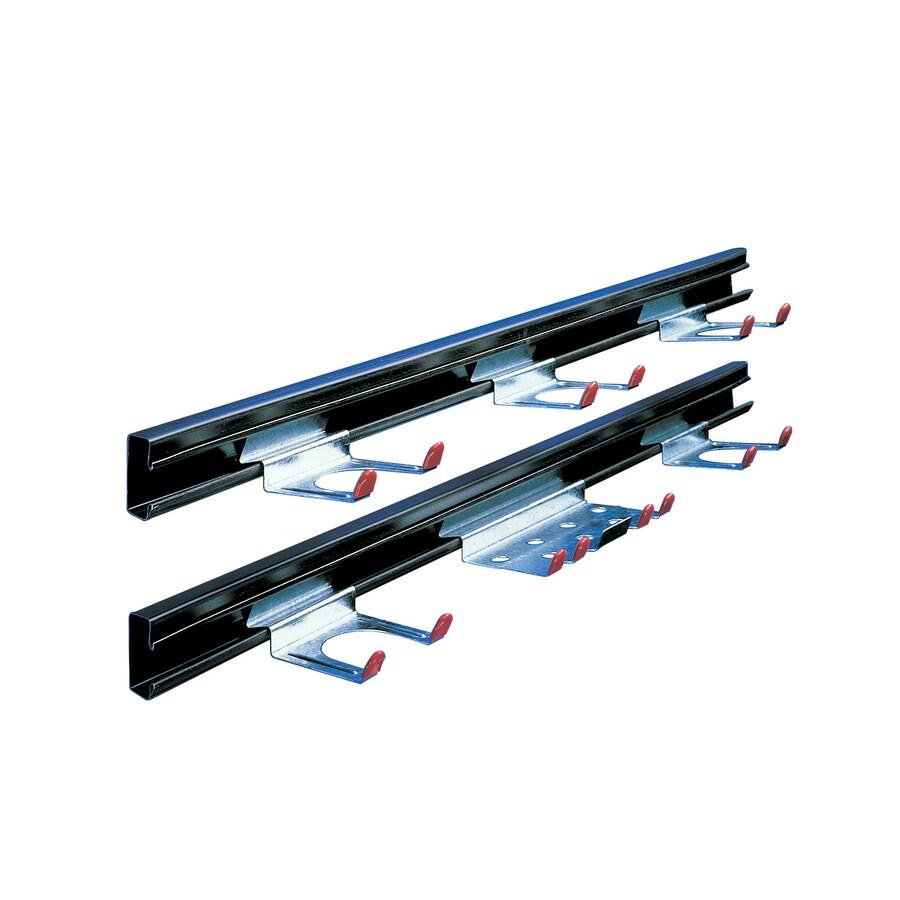 Arrow Gray Galvanized Steel Storage Shed Tool Hanger Rack