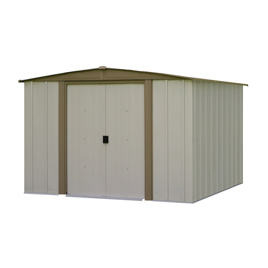 Shop Arrow Bedford Galvanized Steel Storage Shed Common