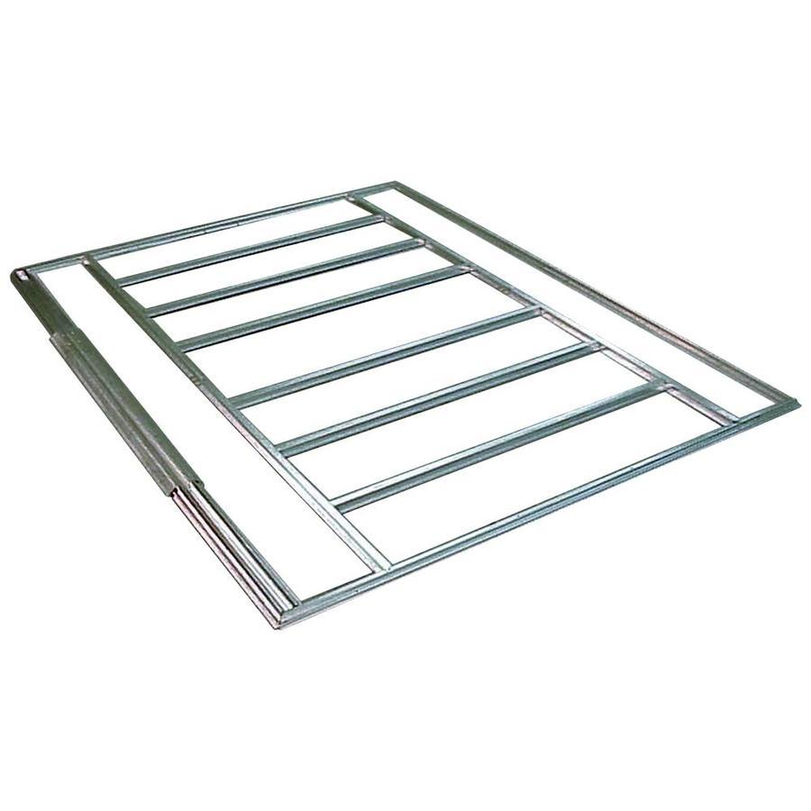 Shop Arrow 3 98 Ft X 8 27 Ft Metal Storage Shed Floor Kit