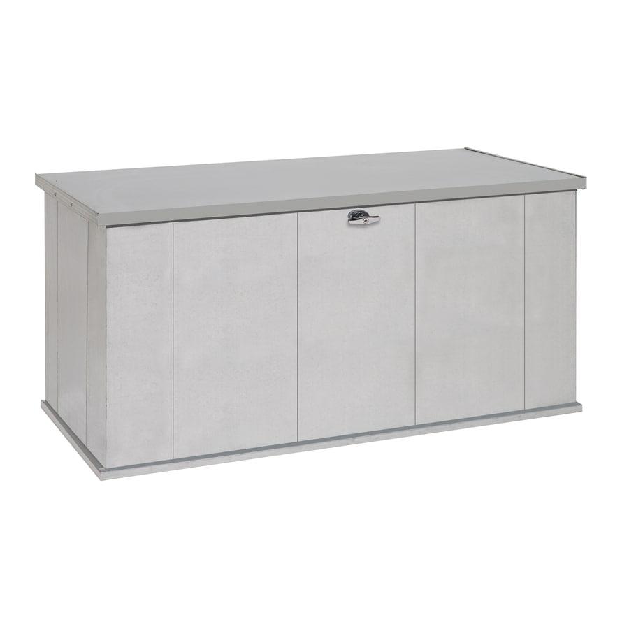 STORBOSS Bull Dog DIY Storage 29.8-in L x 57.4-in W 135.5-Gallon Galvanized Steel Deck Box