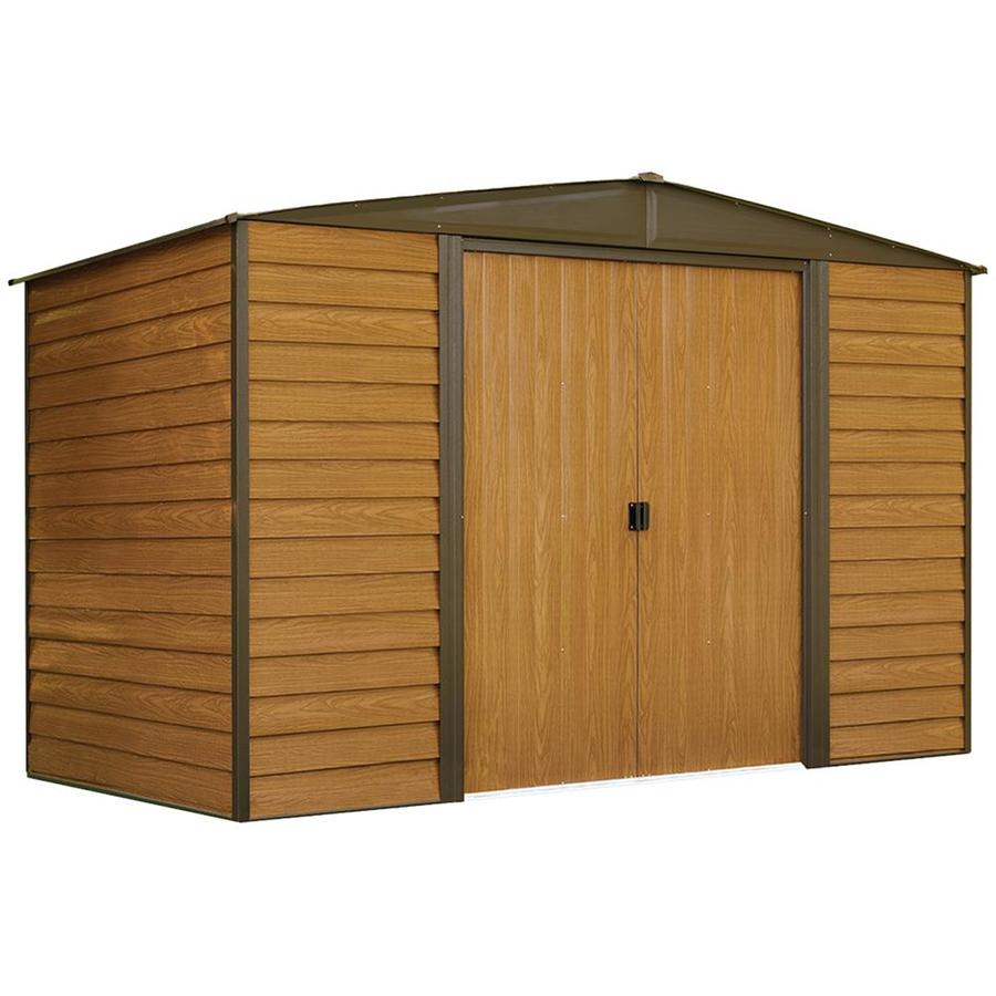 Woodridge Galvanized Steel Storage Shed (Common: 10-ft x 6-ft; Interior Dimensions: 9.85-ft x 5.5-ft) Product Photo