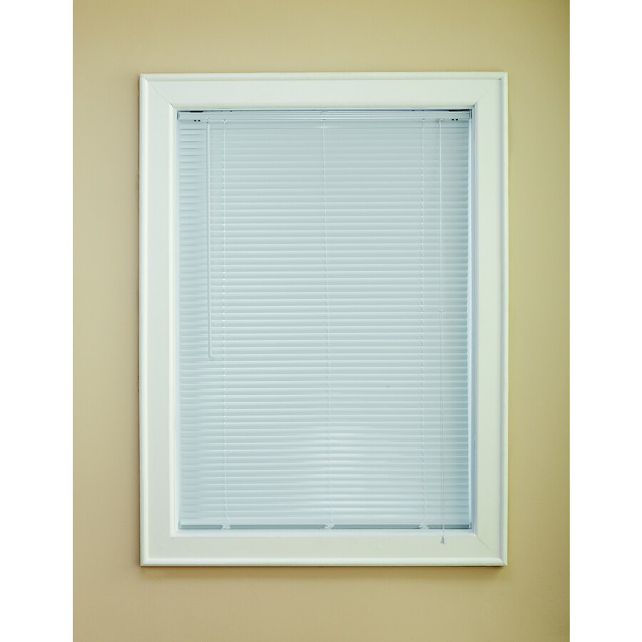 Custom Size Now by Levolor 1-in White Aluminum Room Darkening Mini-Blinds (Common 39-in; Actual: 38.5-in x 72-in)