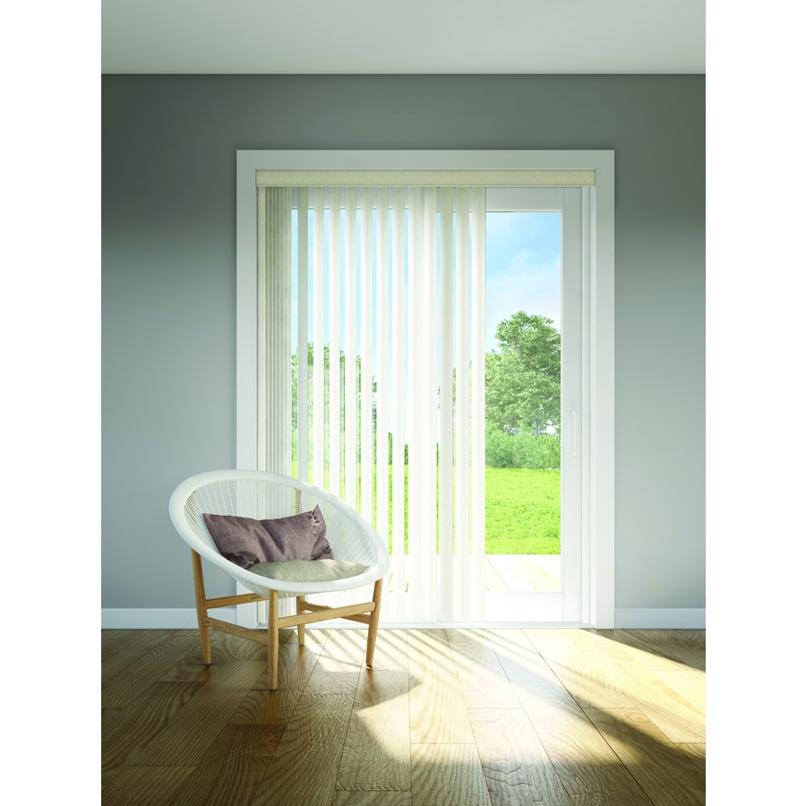 Custom Size Now by Levolor Sienna Vinyl Vertical Blinds