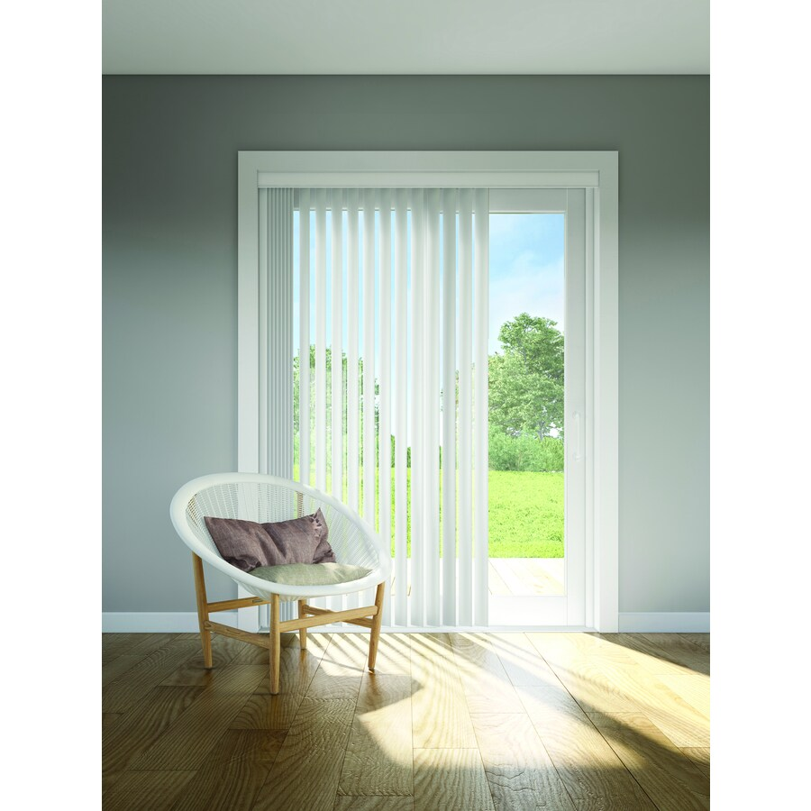 Custom Size Now by Levolor Ivory Vinyl Vertical Blinds