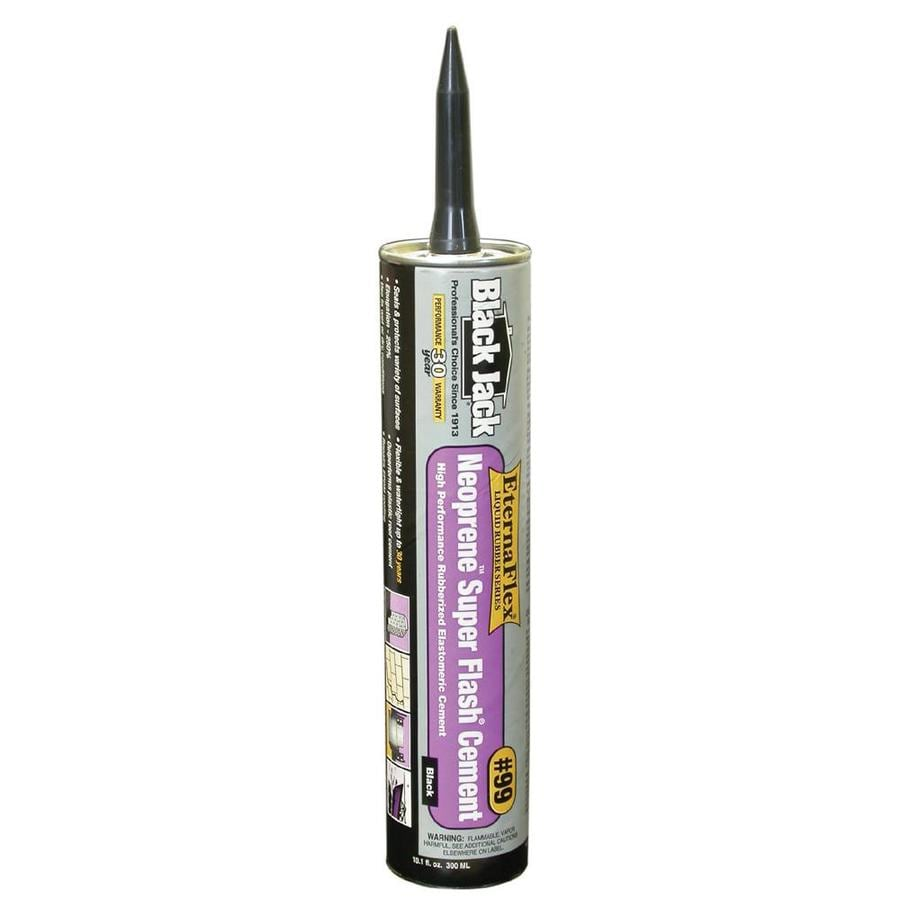BLACK JACK 10.1-fl oz Waterproof Cement Roof Sealant