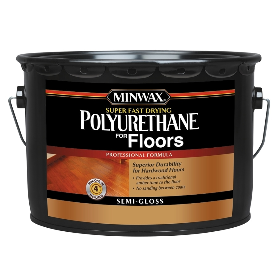 Minwax qt. Semi-Gloss Fast-Drying Polyurethane-630- The Home