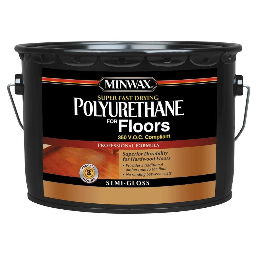 Minwax Poly for Floors Semi-Gloss Base 320 fl oz Polyurethane