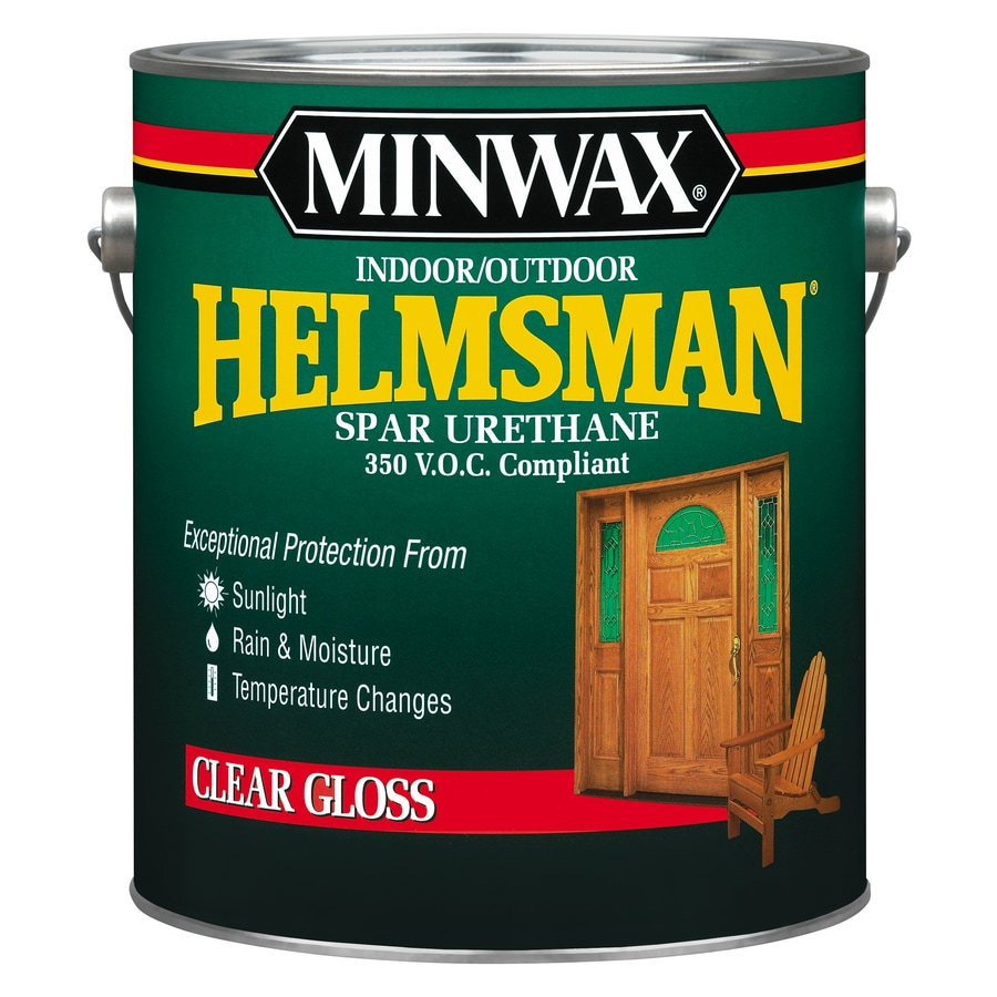 Minwax Helmsman Gloss Oil-Based 128-fl oz Varnish