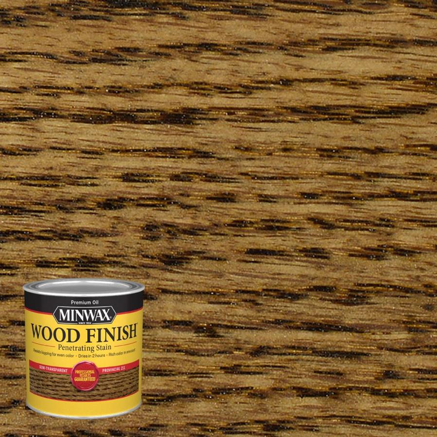 Minwax Wood Finish 8-fl oz Provincial Oil-Based Interior Stain
