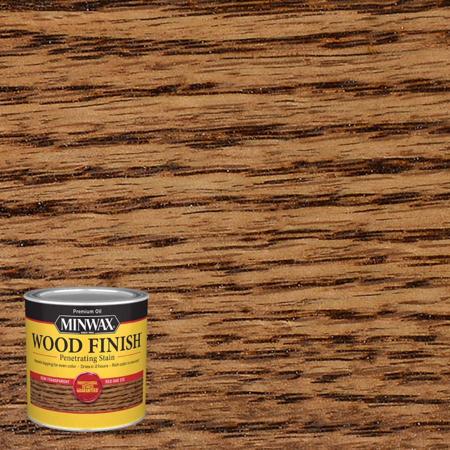 Minwax Wood Finish 8-fl oz Red Oak Oil-Based Interior Stain