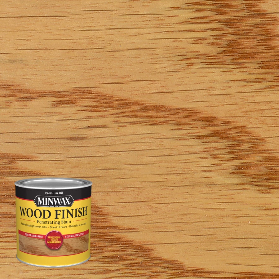 Minwax Wood Finish 8-fl oz Colonial Maple Oil-Based Interior Stain