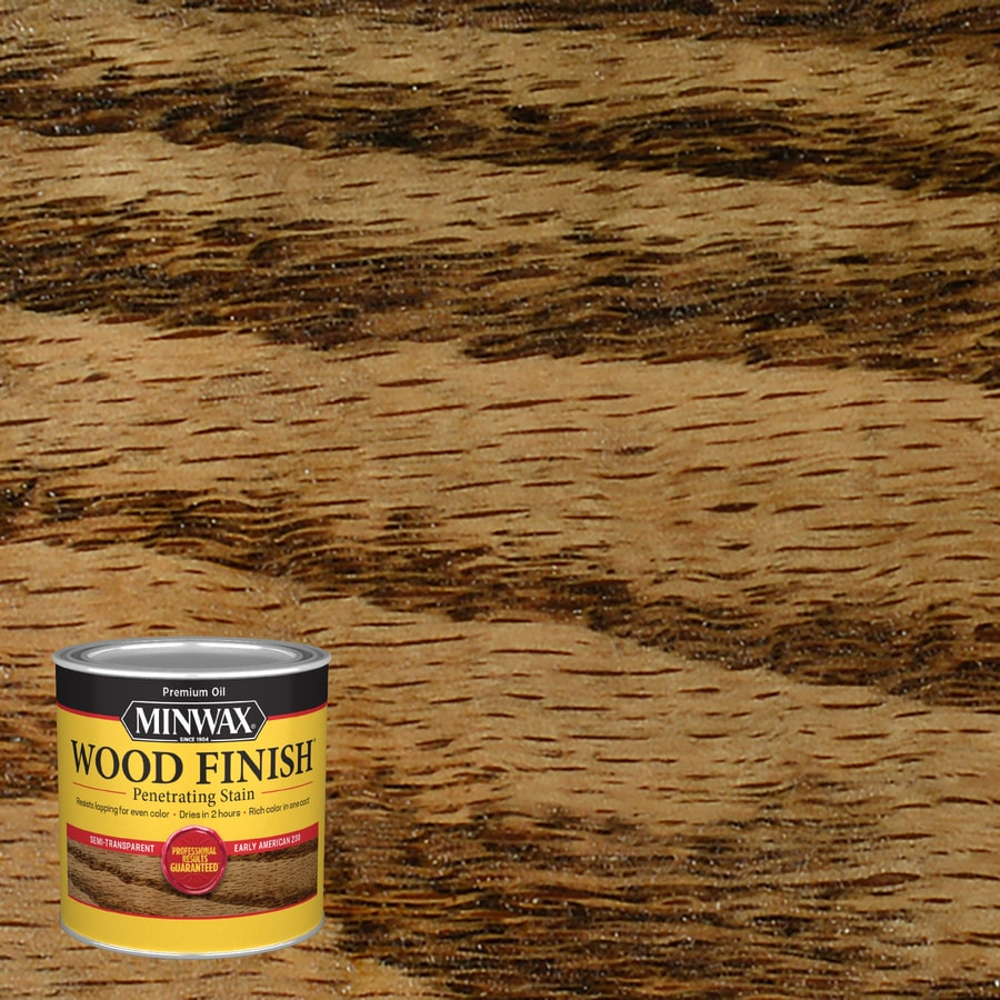 Minwax Wood Finish 8-fl oz Early American Oil-Based Interior Stain