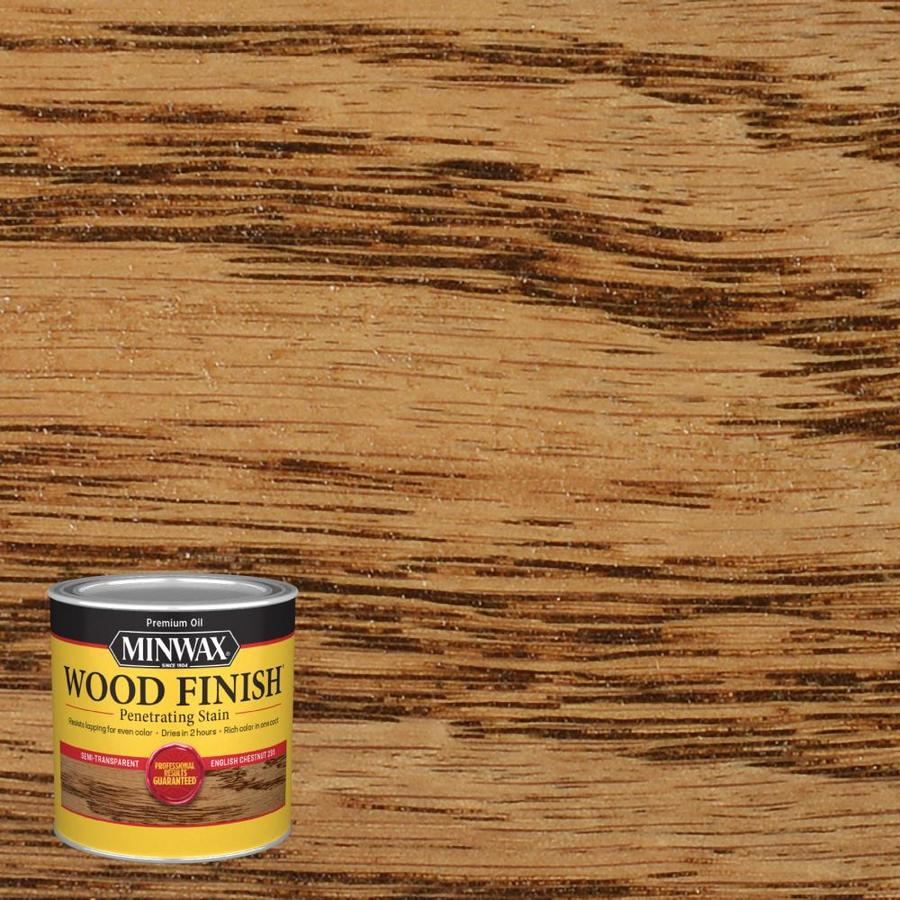 Minwax Wood Finish 8-fl oz English Chestnut Oil-Based Interior Stain