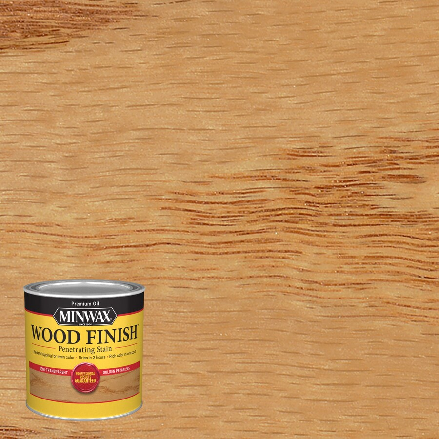 Minwax Wood Finish 8-fl oz Golden Pecan Oil-Based Interior Stain