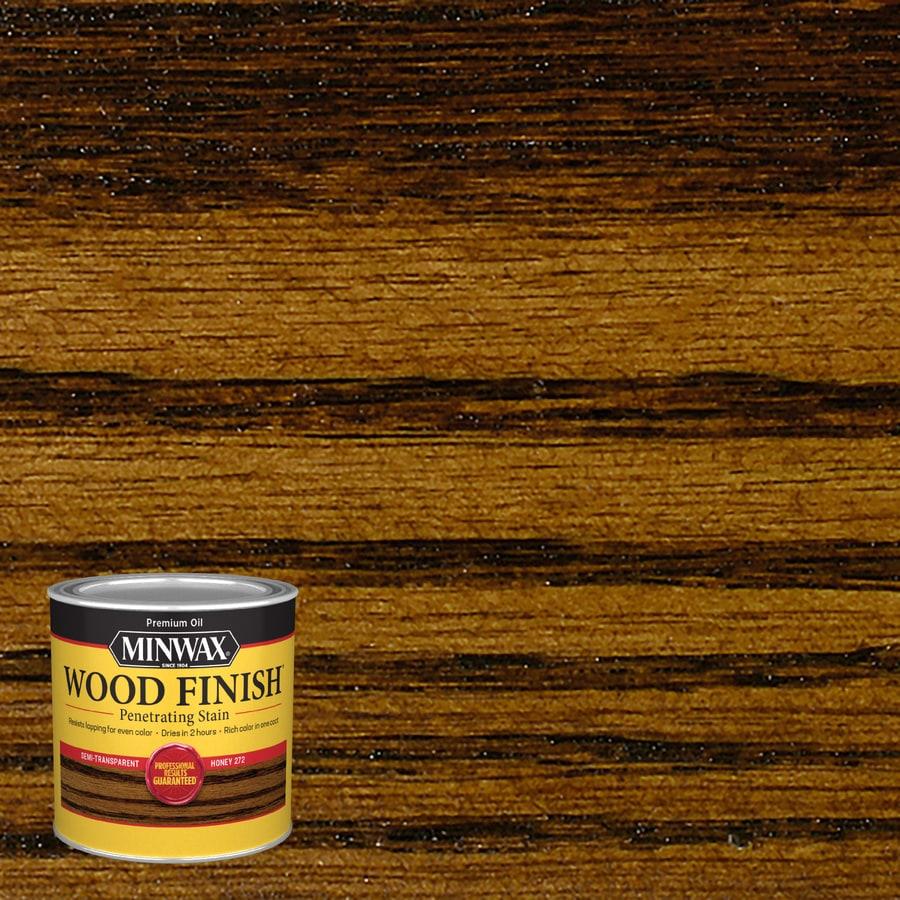 Minwax Wood Finish 8-fl oz Honey Oil-Based Interior Stain