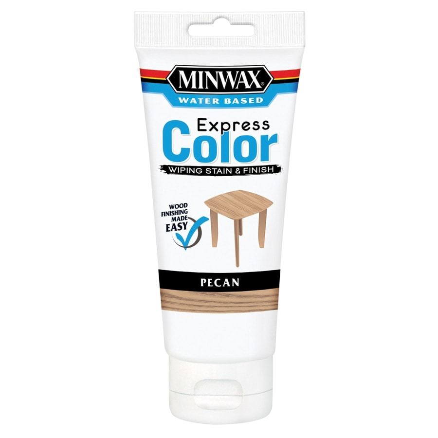 Minwax Express Color 6-fl oz Pecan Water-Based Interior Stain