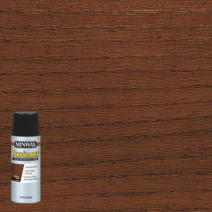 Minwax Polyshades 10.75-fl oz Mission Oak Gloss Oil-Based Interior Stain