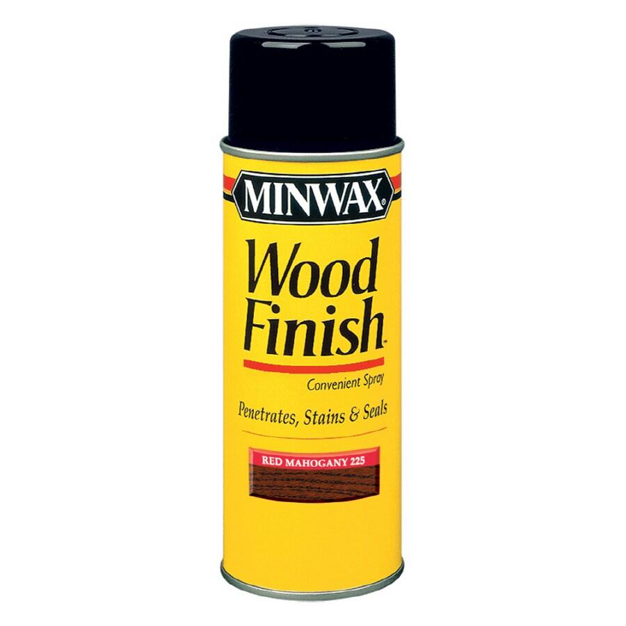 Minwax 11.5-oz Red Mahogany Wood Finish