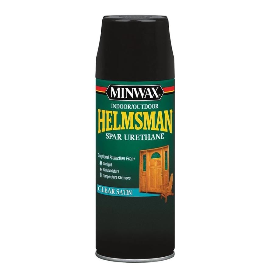 Minwax Helmsman Satin Oil-Based 11.5-fl oz Varnish