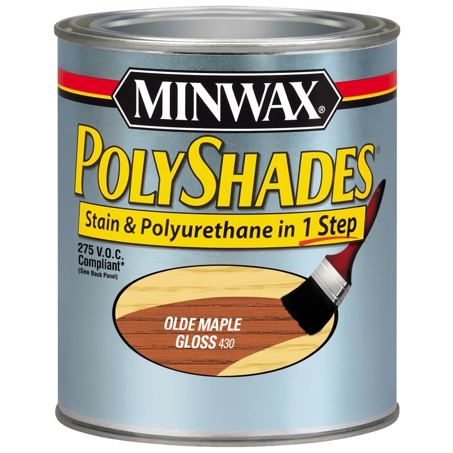 Minwax Polyshades 32-fl oz Olde Maple Gloss Oil-Based Interior Stain
