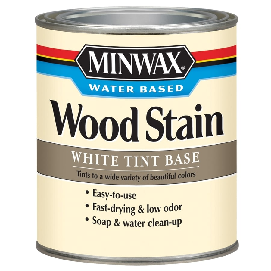 Minwax Water Based Wood Stain 29-fl oz White Oak Water-Based Interior Stain