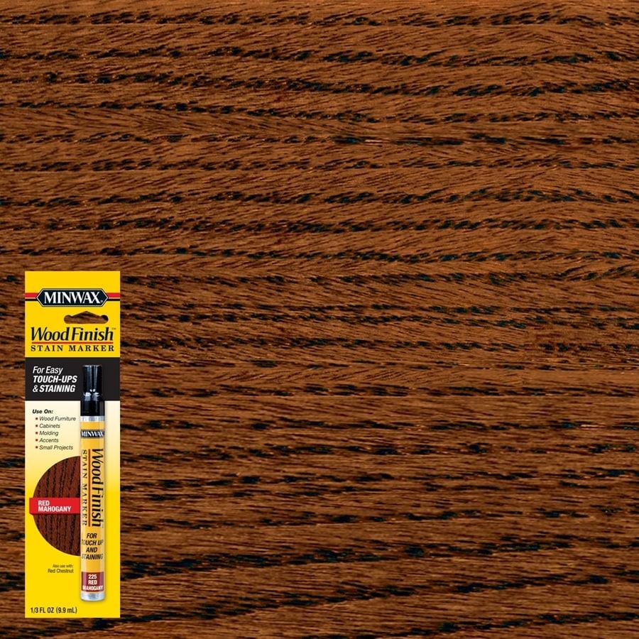 Minwax Wood Finish Stain Marker Red Mahogany Stain Pen