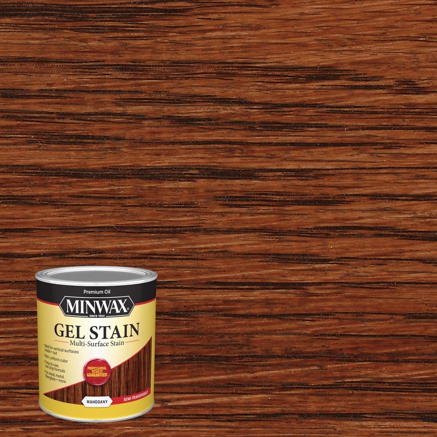 Minwax Gel Stain 32-fl oz Mahogany Interior Stain
