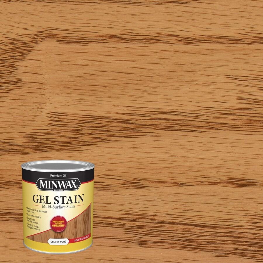 Minwax Gel Stain 32-fl oz Cherrywood Interior Stain