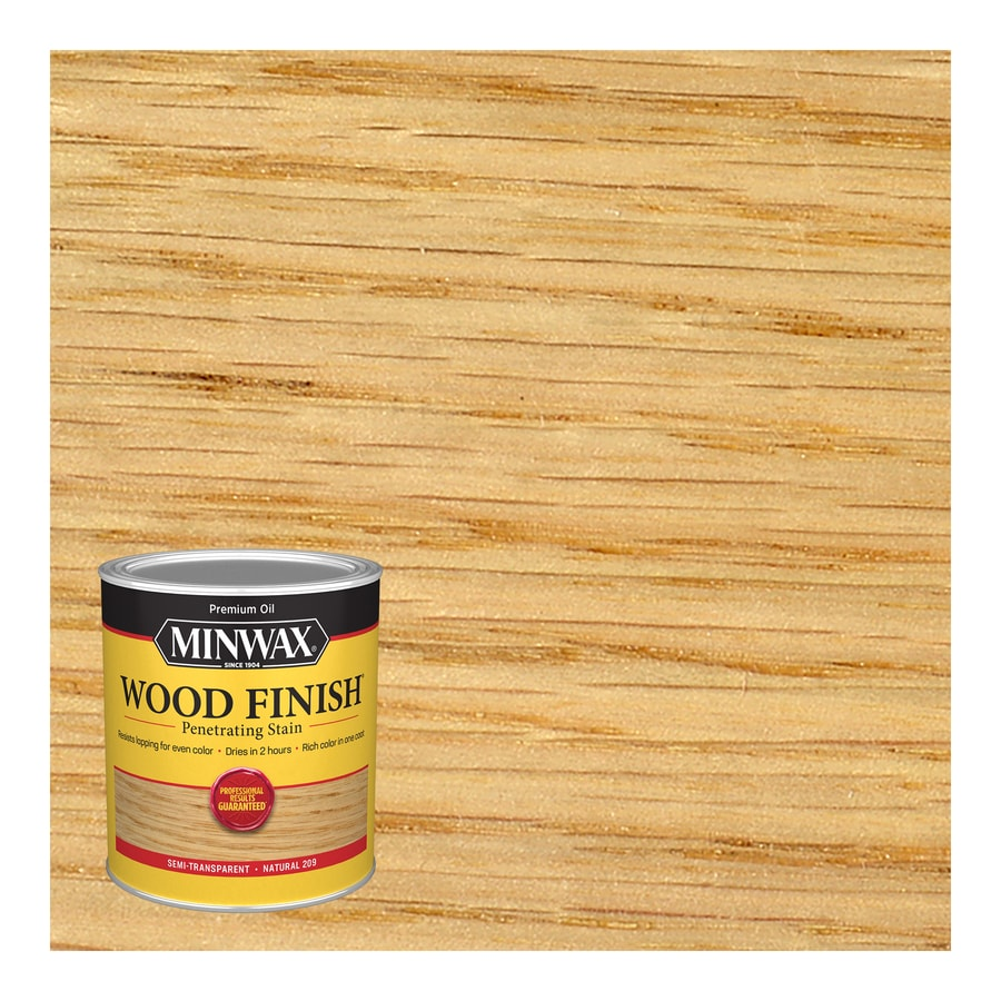 Minwax Wood Finish 32-fl oz Natural Oil-Based Interior Stain