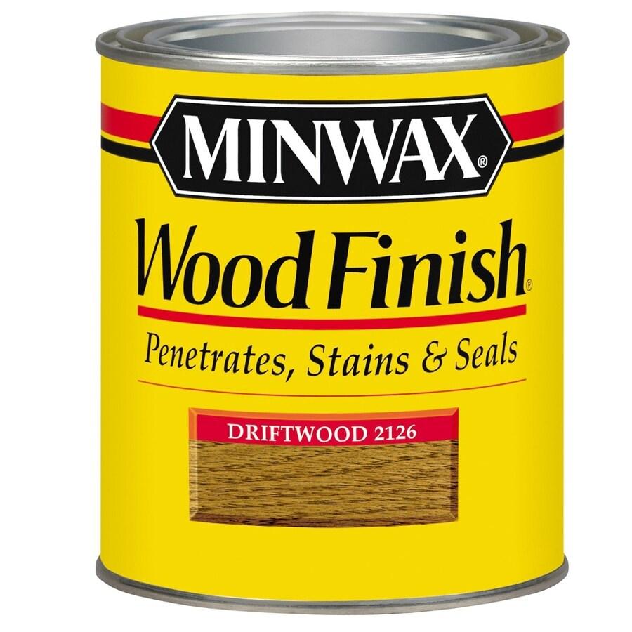 Minwax Wood Finish 32-fl oz Driftwood Oil-Based Interior Stain