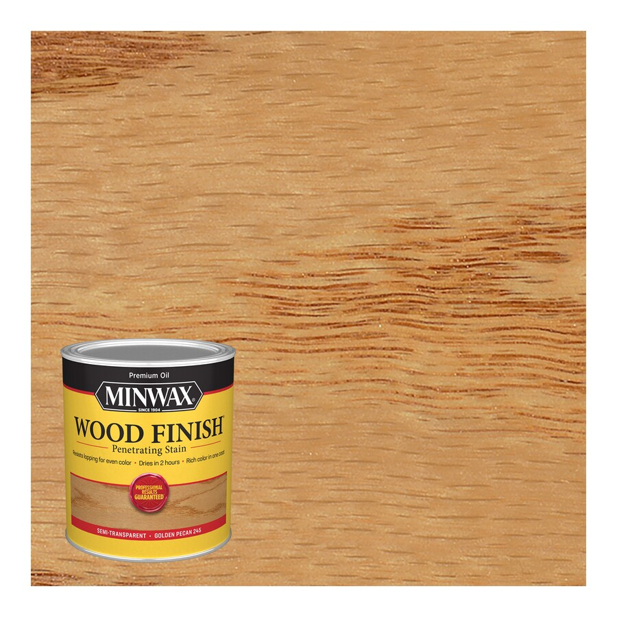 Minwax Wood Finish 32-fl oz Golden Pecan Oil-Based Interior Stain