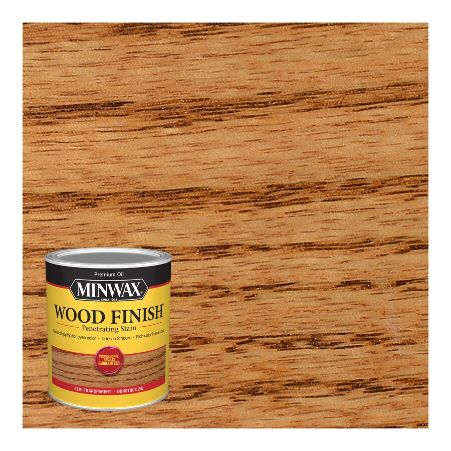 Minwax Wood Finish 32-fl oz Gunstock Oil-Based Interior Stain