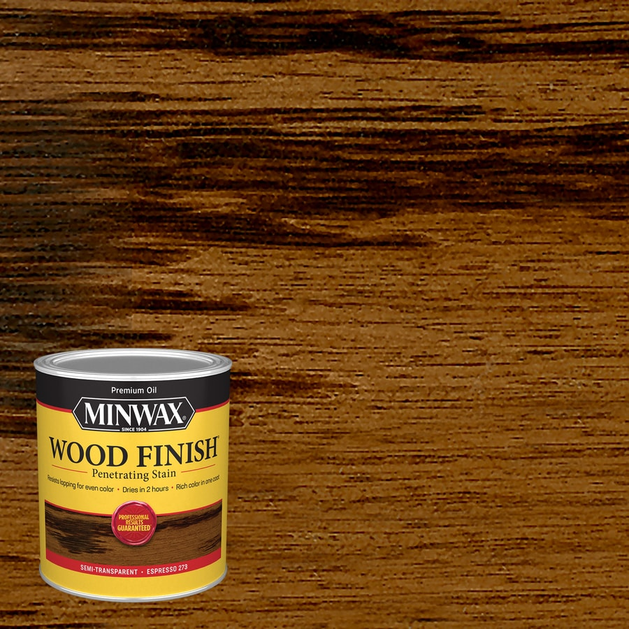 shop minwax wood finish 32 fl oz espresso oil based interior stain at. Black Bedroom Furniture Sets. Home Design Ideas