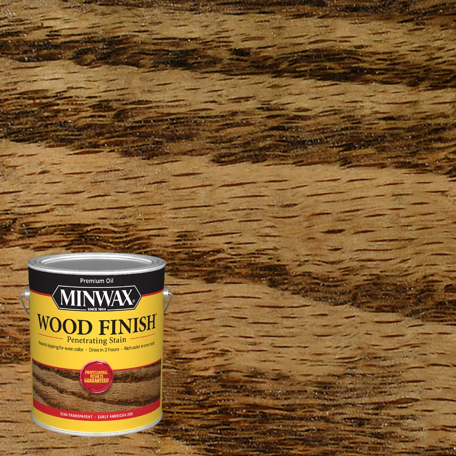 Minwax Wood Finish 128-fl oz Early American Oil-Based Interior Stain