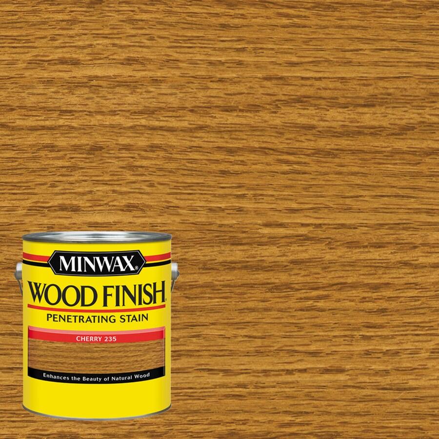 Minwax 128-fl oz Cherry Oil-Based Interior Stain