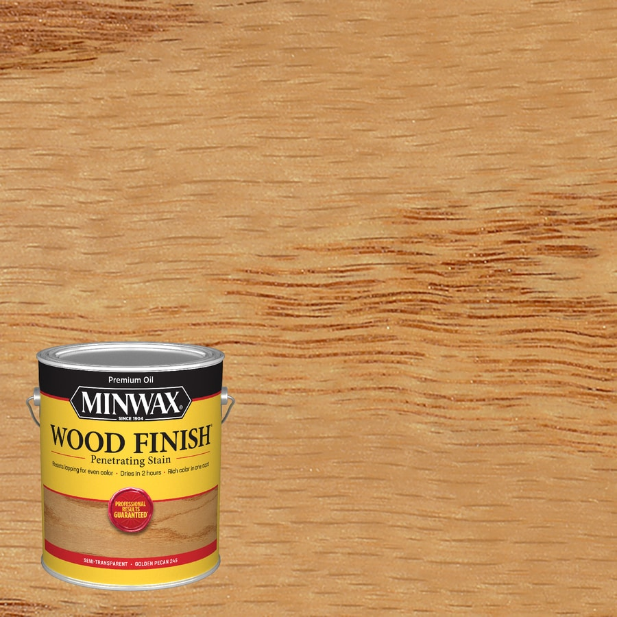 Minwax Wood Finish 128-fl oz Golden Pecan Oil-Based Interior Stain