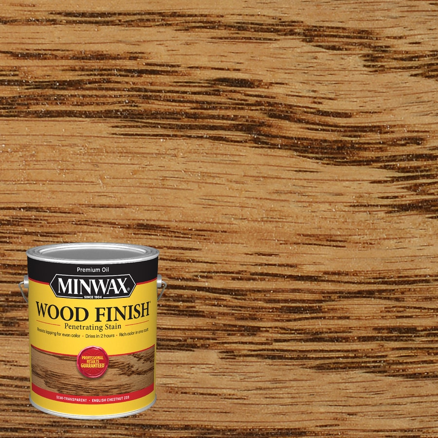 Minwax Wood Finish 128-fl oz English Chestnut Oil-Based Interior Stain