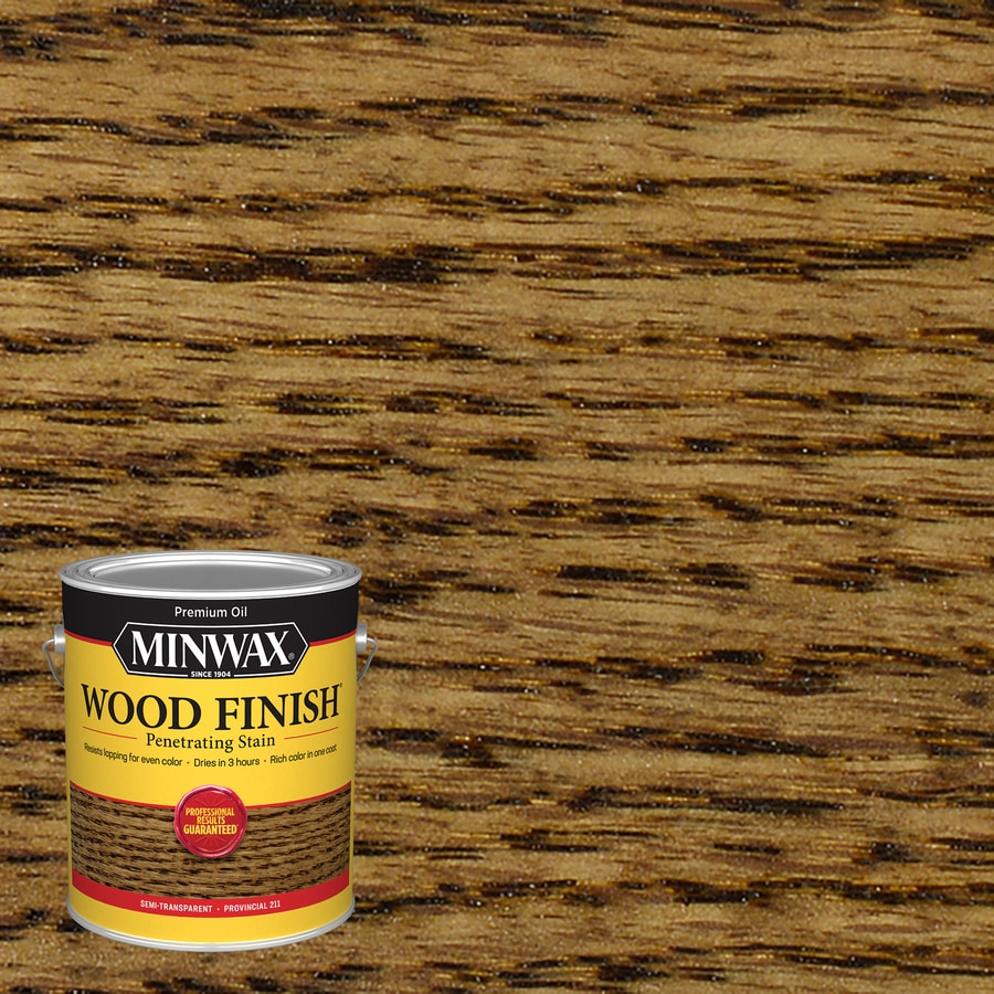 Minwax Wood Finish 128-fl oz Provincial Oil-Based Interior Stain