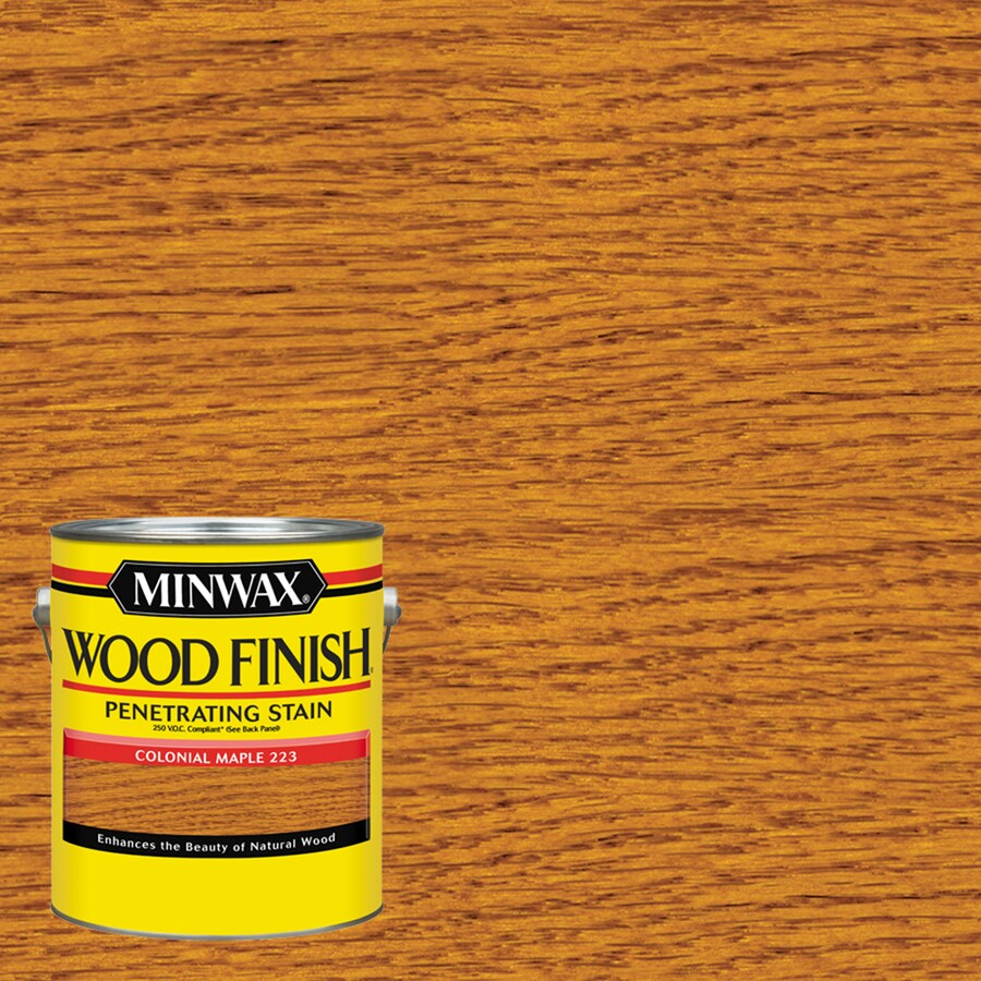Minwax Wood Finish 128-fl oz Colonial Maple Oil-Based Interior Stain