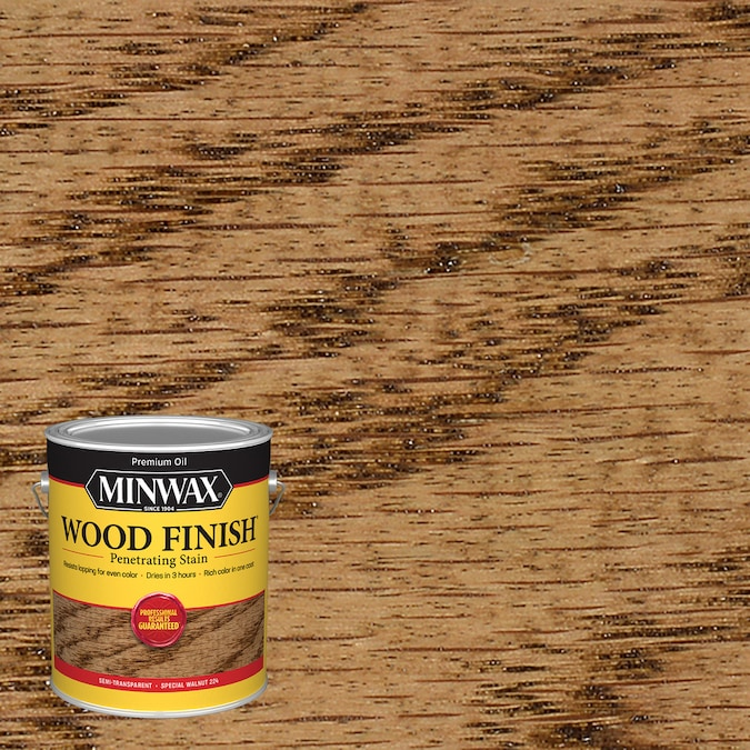 Minwax Wood Finish Special Walnut Oil Based Interior Stain