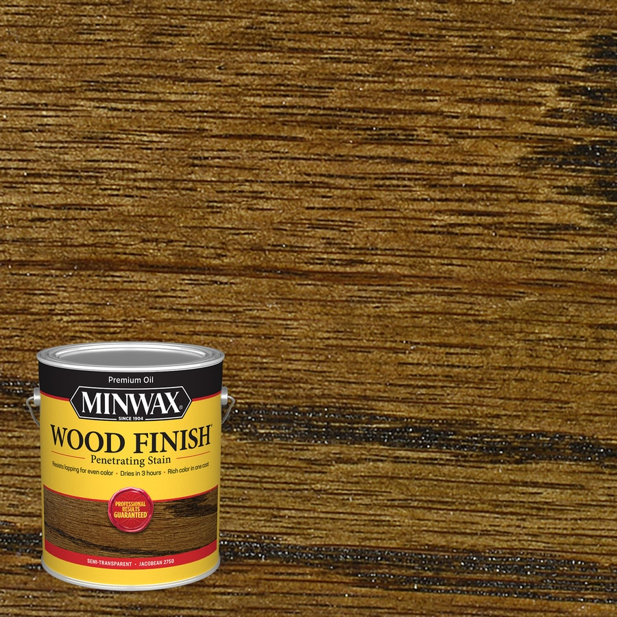 Minwax 128-fl oz Jacobean Oil-Based Interior Stain