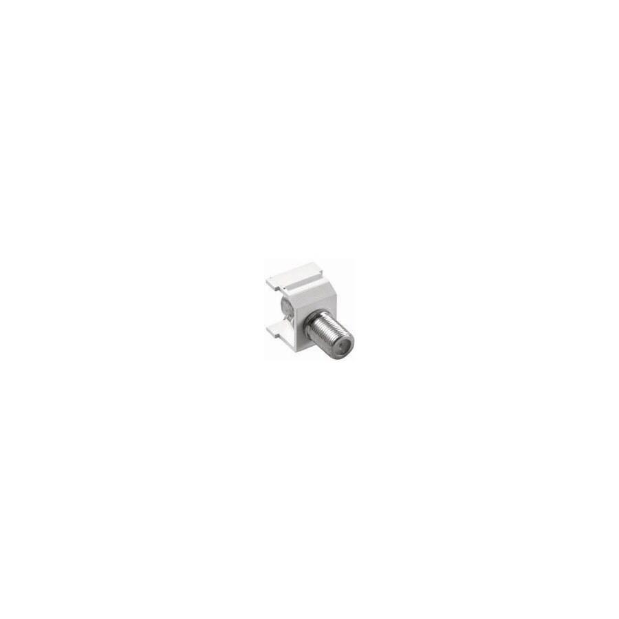 Lutron Nickel Screw-On F-Connector