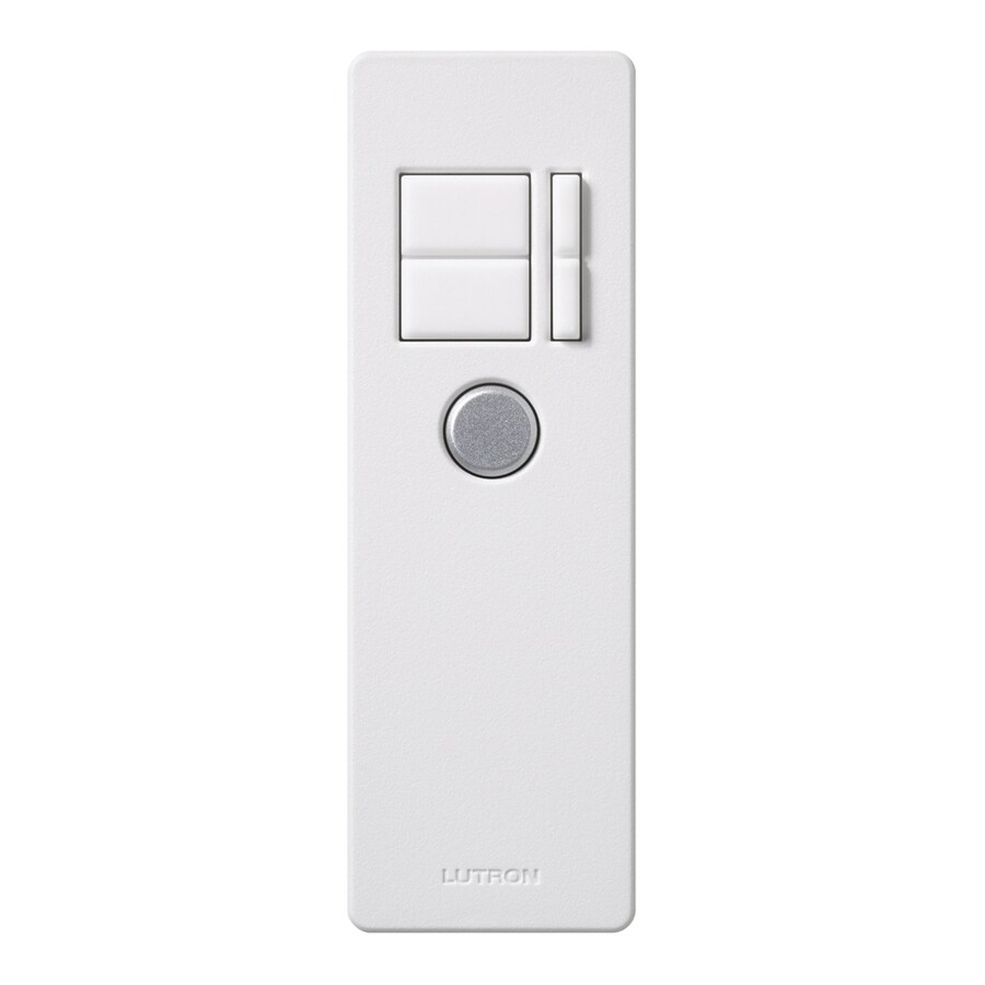 Lutron Maestro IR 600-Watt Single Pole Wireless White Indoor Remote Control Dimmer